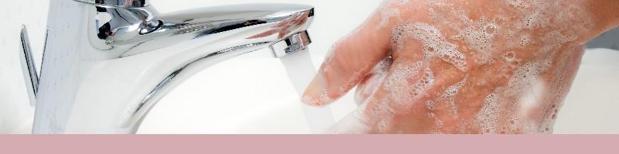 Nettoyage des mains et l'hygiène